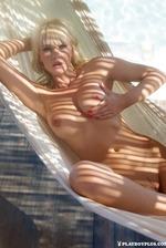 Sarah Domke in Playboy Germany